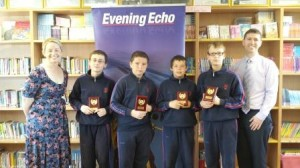Boys Chess Team 2013-14