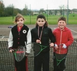 Corks Park Tennis Easter Comp 2013