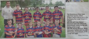 Hurling by the lough boys 2014